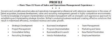 sample resume summary statements click resume with a summary