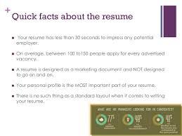 Profile Part Of A Resume Resume Writing For Fresh Graduates