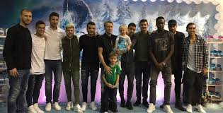 liverpool stars enjoy frozen themed party victory west brom