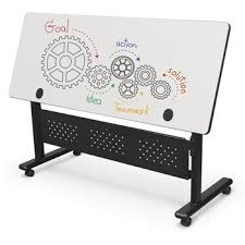 adjustable height training table all dry erase adjustable height flipper folding tables by balt