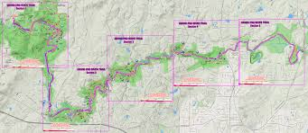 Oak Mountain State Park Trail Map by Eno Trails Public Hiking Trails On The Eno River Grand Eno