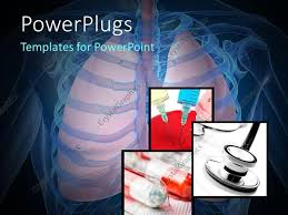 powerpoint design lungs powerpoint template human skeleton with lungs medicines injection