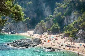 Girona Spain Map by Best Costa Brava Beaches Spain Holiday