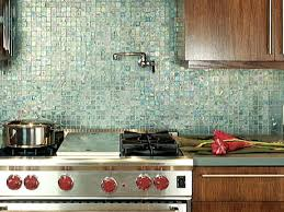 simple chocolate three ways green kitchen televisions and - Recycled Glass Backsplashes For Kitchens