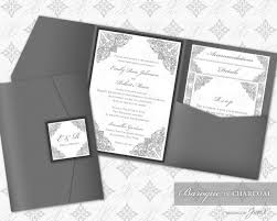 pocket wedding invitation templates 28 images pocket wedding