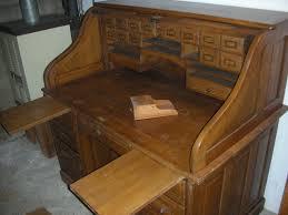 antique oak roll top desk 110 best roll top desk makeover images