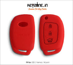 lexus key shell amazon keyzone new silicone key cover fit for verna i20 xcent flip key