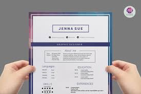 Resume Sample Korea by Editable Modern Cv Template Resume Templates On Thehungryjpeg