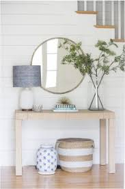 entryway design plans console table round up remington avenue entry way design with shiplap molding