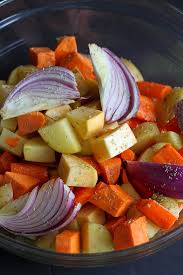 Glazed Root Vegetables Recipe - tart cherry glazed roasted root vegetables recipe cookin canuck
