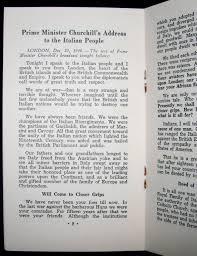 prime minister churchill s address to the italian december