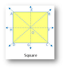 lines of symmetry symmetry in different figures list of examples