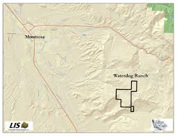 Colorado Hunting Unit Map by 1880 Acres In Montrose County Colorado