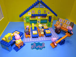 lego building conspiracy part peppa pig nickelodeon and george