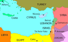 map of cyprus map cyprus