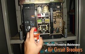preventive maintenance of air circuit breakers