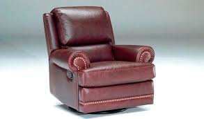 red leather swivel recliner chair red faux leather recliner chair