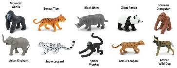 safari ltd african wild dog safari ltd toob 100109 endangered species land