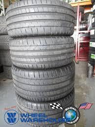 used corvette tires set of corvette c7 tires michelin pilot ss zp 245 40 18 8 32nd 285