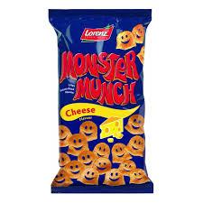 Halloween Monster Munch Lorenz Monster Munch Cheese 75g