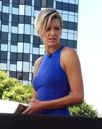 new haircut charissa thompson extra charissa thompson new haircut charissa thompson on the set