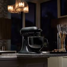 all black kitchenaid mixer popsugar food