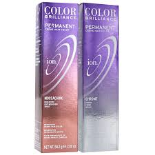 ion haircolor pucs ion color brilliance permanent creme 7va chrome ion at home