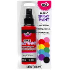 Glow In The Dark Spray Paint Colors - tulip fabric spray paint