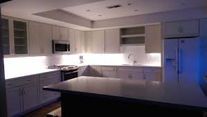 Over Cabinet Lighting For Kitchens Picture Of New Xenon Task Lights In Customer Kitchen Lights