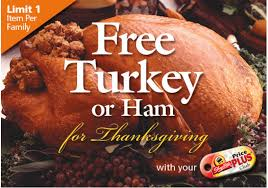 consider donating your shoprite frozen turkey to the nfsb