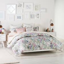 lauren conrad wildflower duvet cover set