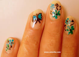 nail art ideas u2013 butterfly nail art tutorial with step by step