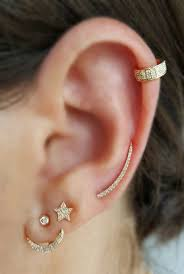 ear pin 102 best ear stories gold and diamond jewelry images on