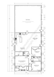 shop floor plans with living quarters home architecture barndominium floor plans apartment plan shop
