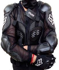 fox motocross body armour fox riding gear body armor with stretchable fabric xl 42 inch