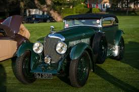 classic bentley convertible automobile excellence results and pictures of the zoute concours