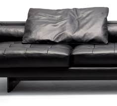 Large Leather Sofa Large Leather Sofa Plaza From Swan By Designers Ludovica And