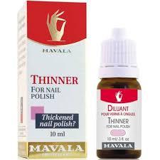 mavala thinner for nail polish 10ml