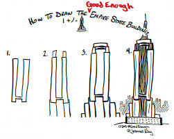 jeannelking com how to draw a good enough empire state building