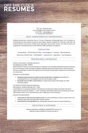 Legal Administrative Assistant Resume Sample by 8 Best Resume Samples Images On Pinterest Clocks Resume