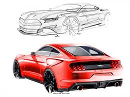 mustang designs 01 ford mustang design sketches by kemal curic 02 720x540 jpg 720