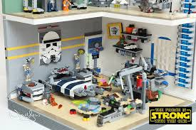 Lego Bedrooms Lego Star Wars Bedrooms Before The Force Awakens Technabob