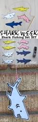 doodlecraft shark attack magnetic fishing set