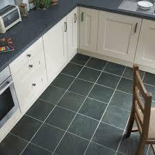 Cheap Tile For Kitchen Floors Black Slate Kitchen Floor Tiles Bjyoho Com