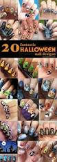 halloween nail designs 20 fantastic halloween nail designs