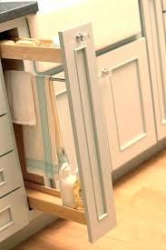 kitchen cabinet towel rail kitchen cabinet door towel rack how to make a kitchen cabinet rack