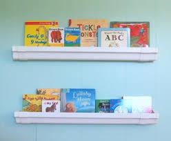 diy rain gutter bookshelves for kids bright horizons