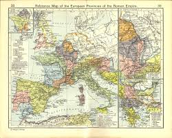 roman provinces in europe novaroma