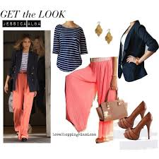 what goes with pink what goes well with a coral pink palazzo pant quora