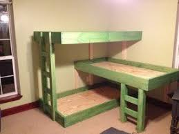 Plans For Making A Triple Bunk Bed by Triple Bunk Beds For Kids Foter